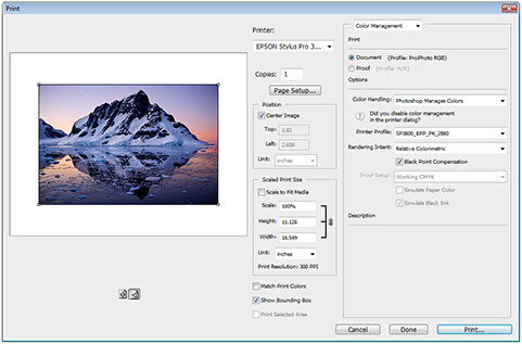 how to use icc profiles for printing